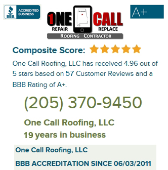 Better Business Reviews for One Call Roofing
