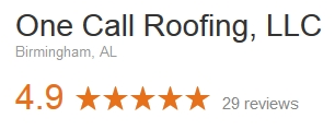 One Call Roofing Google Reviews