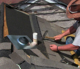 pipe flashing repair in Birmingham, AL
